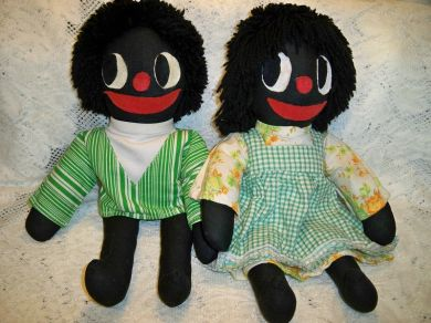 Vintage Black Americana Cloth Dolls