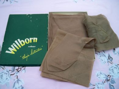 Vintage 1950s Ladies Nylon Stockings